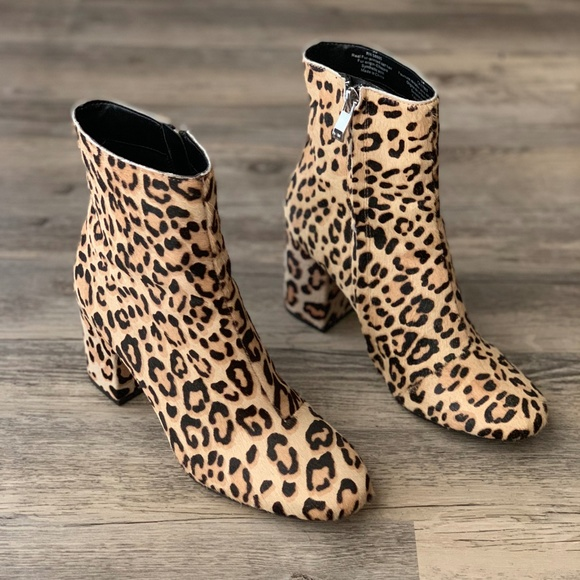 bf8a4c36a6f Halogen Shoes - Halogen Leopard Cheetah Animal Print Boot Bootie